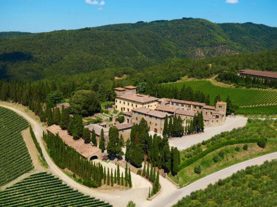 (01) Castello di Albola / Albola Castle