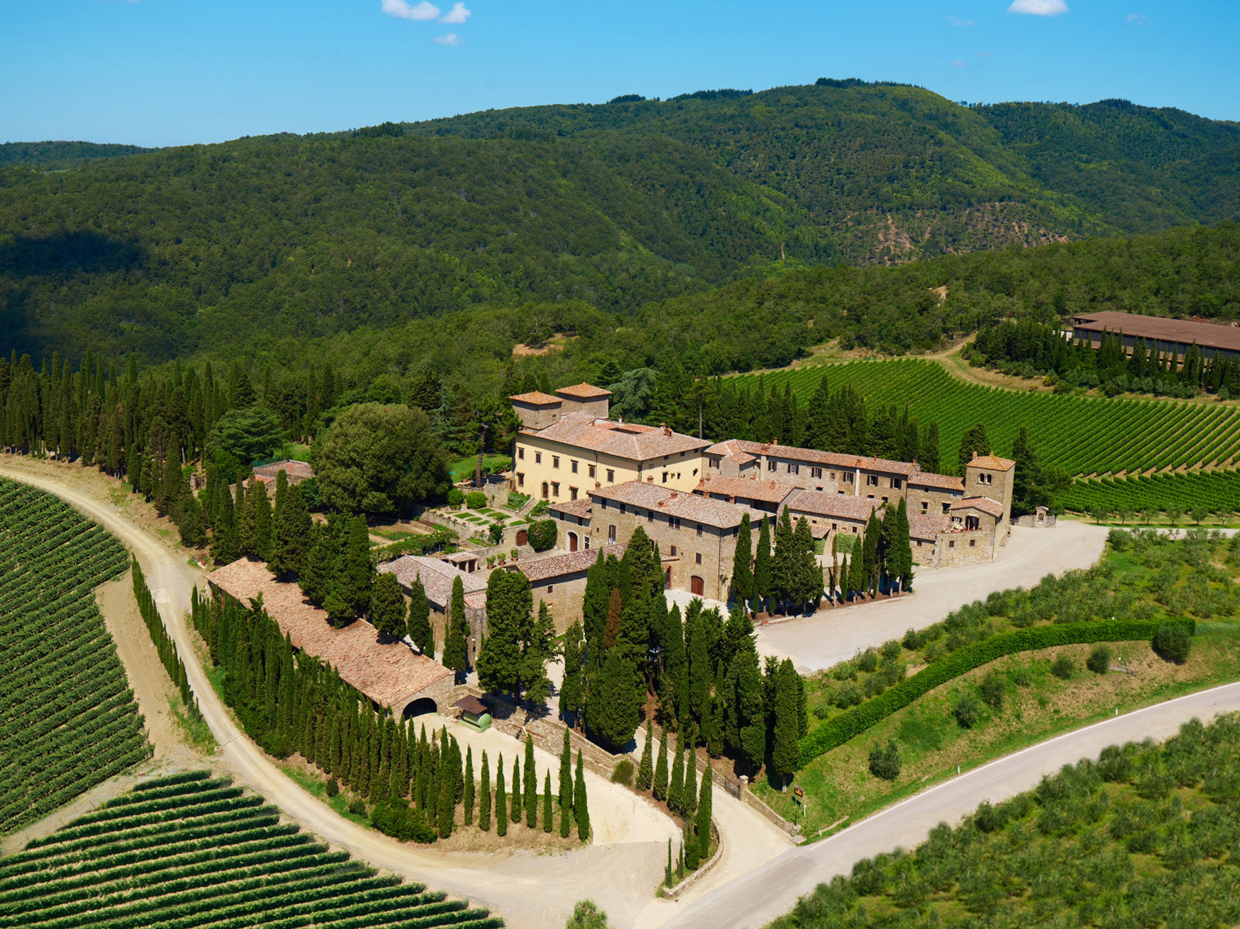 Wine and hospitality at beautiful Albola Castle