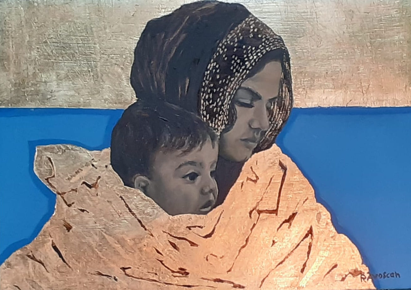 Rosellina Avoscan: pittrice, scultrice e ceramista