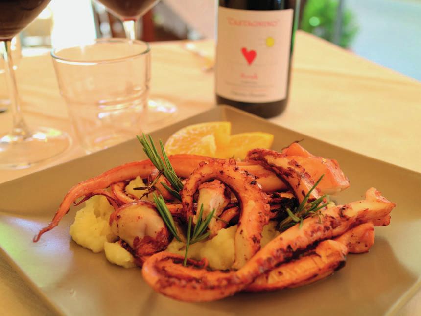 """""""Dal Grigino"""", tra piatti tipici e sapori di terra e mare"""